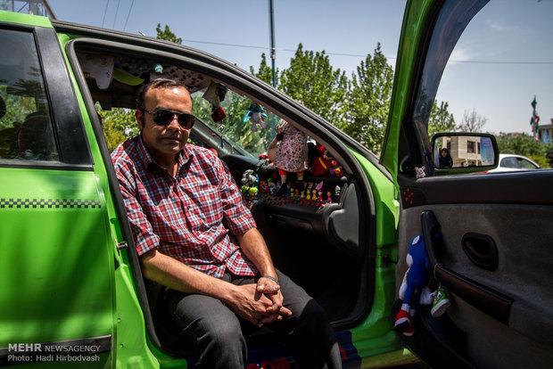گفتگو با تاکسی عروسکی
