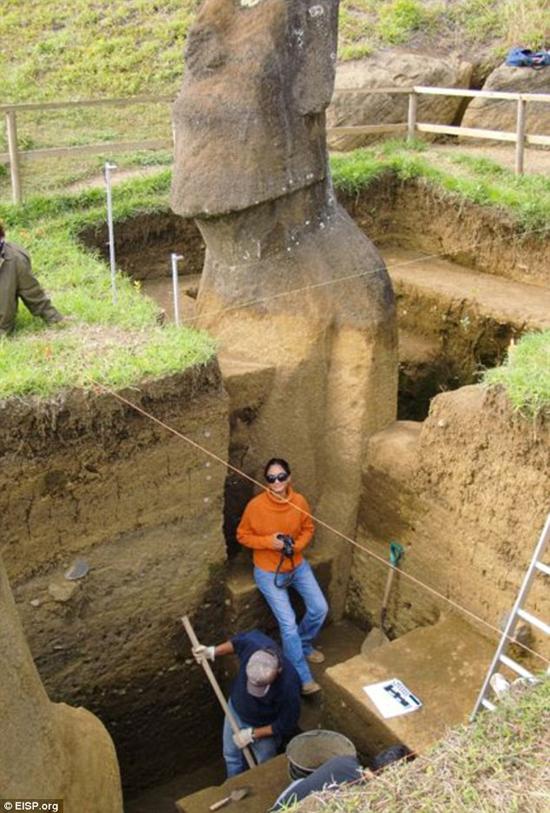 مجسمههای سه هزار ساله+ تصاویر
