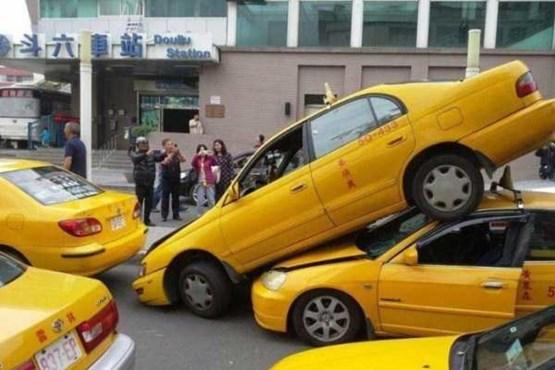 تصادفات خنده دار - عکس تصادف باحال