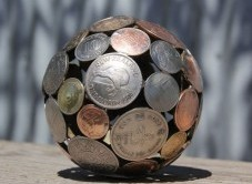 ساخت وسایل تزیینی با کلید و سکه!