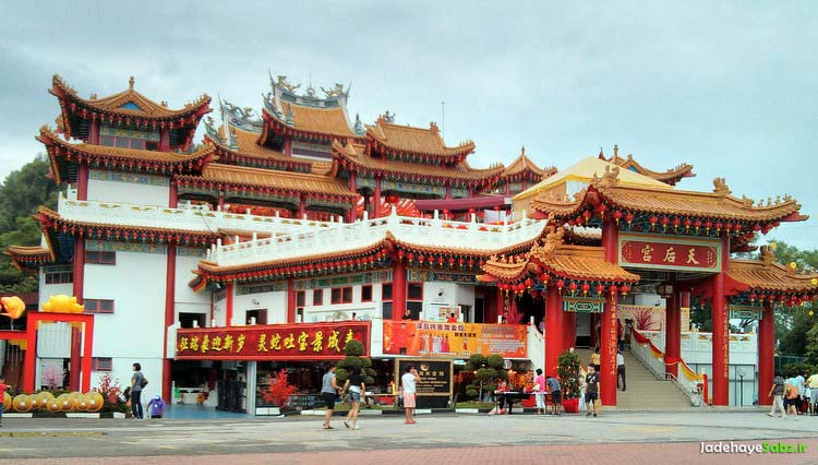 دیدنیهای کوالالامپور,معبد تین هو