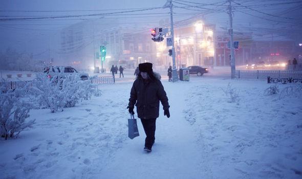 شهر یاکوتس در روسیه