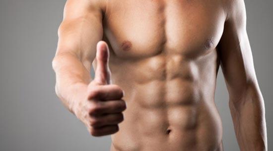 عضلات شکم شش تکه abs-workout