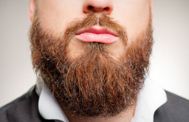 آلوده بودن ریش به اندازه مدفوع