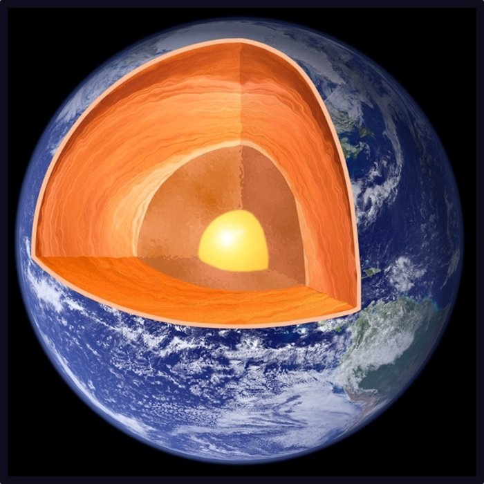 اسرار حل نشده علمی,earth-layers