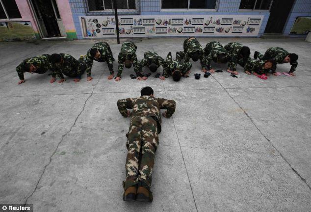 کمپین ترک اعتیاد در چین