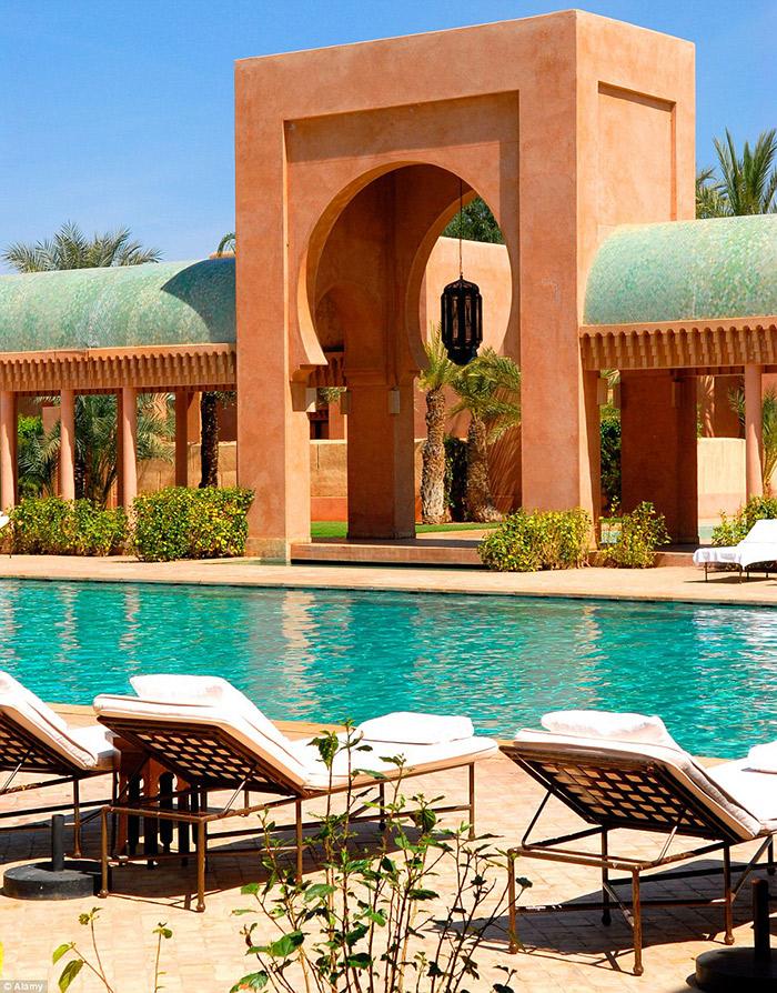 برگزاری تولد دیوید بکهام در هتل قصری باشکوه در کشور مراکش