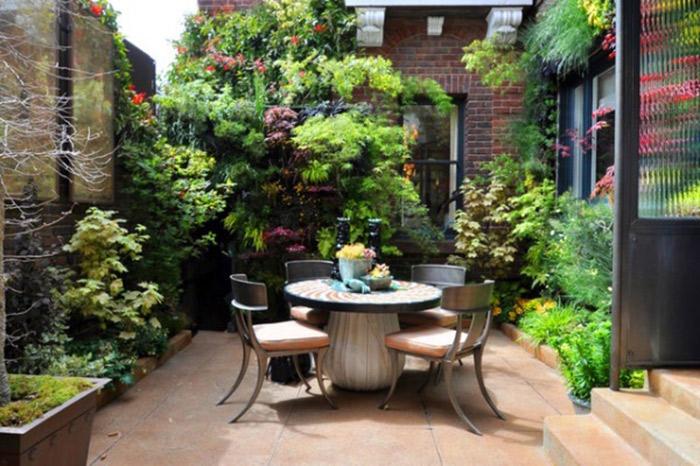 مدل حیاط خانه نودوپنج ایده های ناب برای فضای سبز حیاط های کوچک