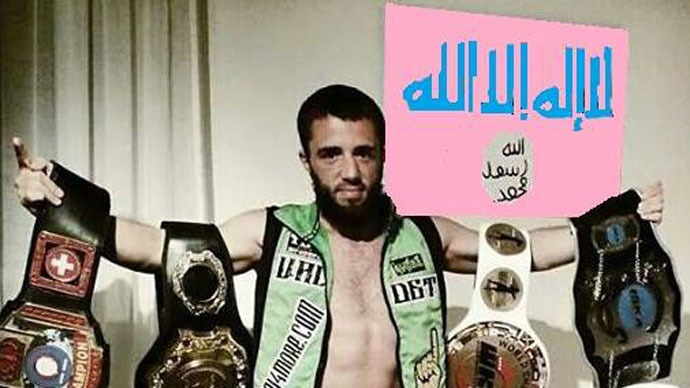 (تصاویر) قهرمون بوکس به داعش ملحق شد