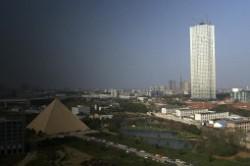 تکمیل برج 204 متری در 19 روز!