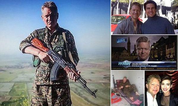 مایکل انرایت در جنگ با داعش