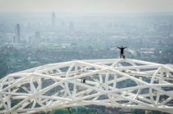 گرفتن سلفی بر بالای بلندترین سازه لندن