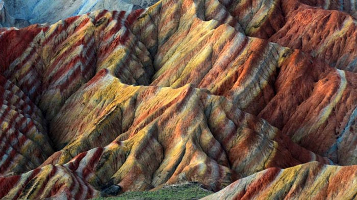 پارک زمینشناسی ژانگی دانژیا، چین