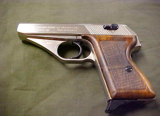 کلت موزر اچ اس  سی - زیباترین اسلحه های کمری دنیا