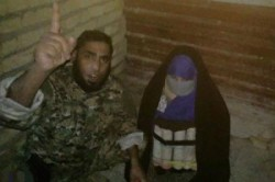 دستگیری زن انتحاری داعشی + عکس