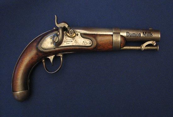 تپانچه یو اس 1836 - زیباترین اسلحه های دنیا