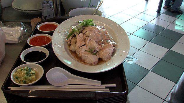 آقای لئونگ دستور پخت غذایش را از پدرش به ارث برده است