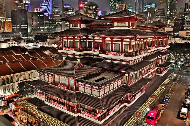 معبد مقدس دندان بودا