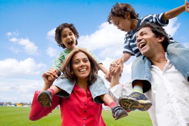 خانواده شاد Happy-family,تربیت فرزندان شاد