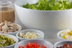 کاهش وزن سالاد Salad-ingredients