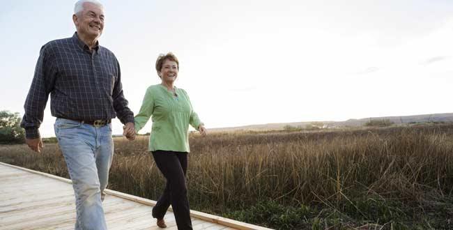 پیاده روی با همسر