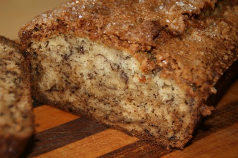 طرز تهیه نان خامه ای موزی