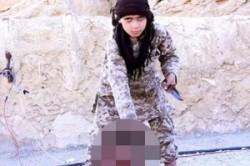 استفاده داعش از مخدر برای وحشی کردن کودکان جلادش!+عکس