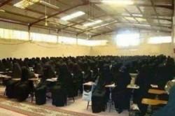 کلاس درس عجیب دختران داعش+عکس