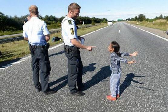 پلیس مهربون دانمارکی