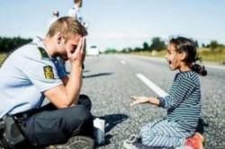 دهها پیشنهاد ازدواج برای پلیس مهربان دانمارکی+عکس