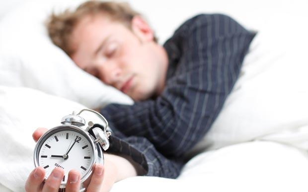 خواب سر ساعت