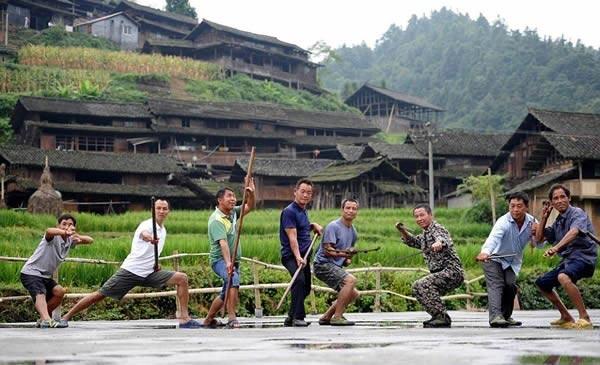 روستایی که همه ساکنانش به کونگفو مسلطاند