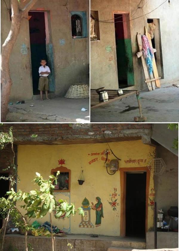 روستای بدون در