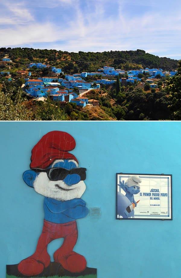 روستای اسپانیایی که ترجیح داد آبی بماند