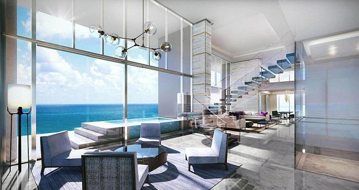 دکوراسیون گرانترین آپارتمان دنیا