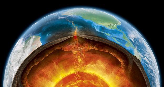 مرکز زمین
