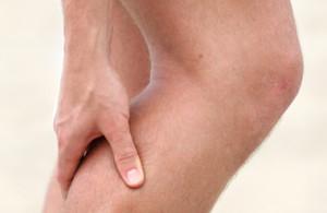 گرفتگی عضله پا