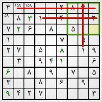 آموزش حل جدول سودوکو