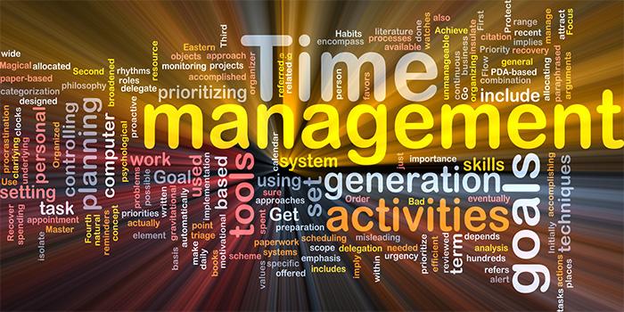 time management مدیریت زمان