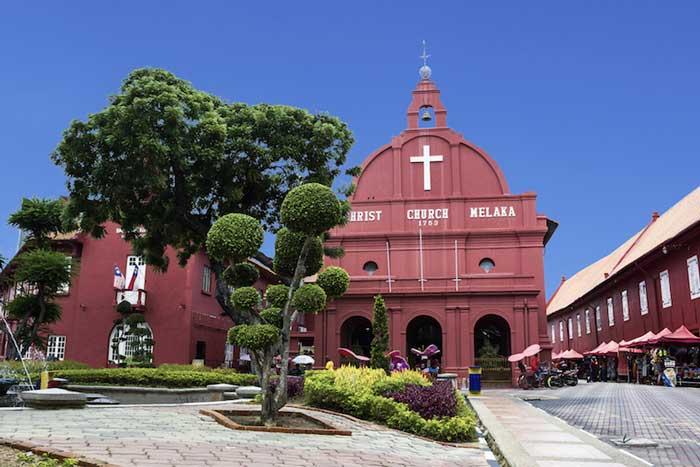جاهای دیدنی ملاکا مالزی,کلیسای کریس-christ_church