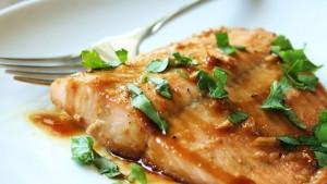 طرز تهیه ماهی قزل آلا افرا