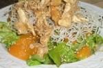 طرز تهیه سالاد مرغ آسیایی