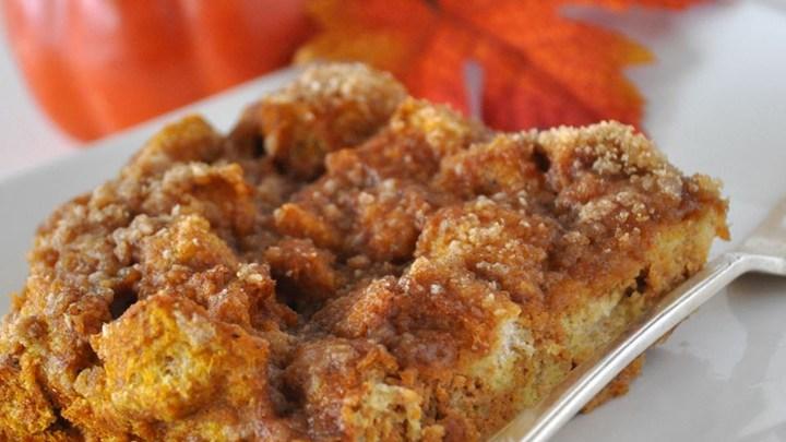 طرز تهیه نان کدو حلوایی فرانسوی
