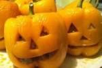 طرز تهیه دلمه فلفل هالووین