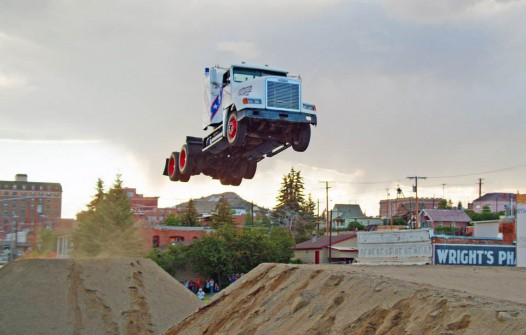 Truck Jumping Record