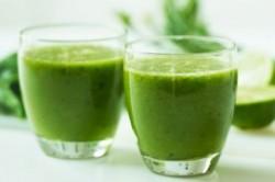 طرز تهیه نوشیدنی سبز لاغر کننده