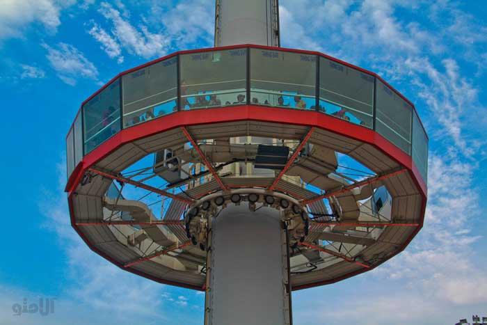 جاهای دیدنی ملاکا مالزی,برج تامینگ ساری-Menara-Taming-Sari