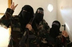 داعش در حال آموزش زنان انتحاری است!+عکس