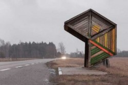 عجیبترین ایستگاههای اتوبوس دنیا + عکس