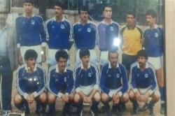 تصویری کمیاب از علی دایی در 16 سالگی